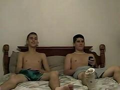 Wanking boys