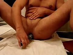 Boy dildo ass fuck
