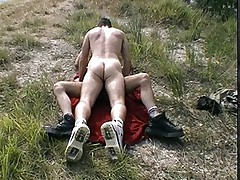 Gay boys fuck in the hills
