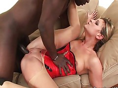 Fucked by his big black cock
