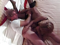 Latin shemale bedroom action