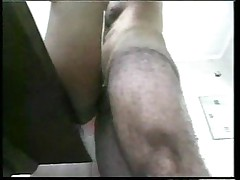 Flat shemale banged on kitchen table