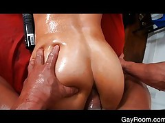 Troy's deep anal massage
