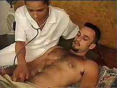 Shemale nurse needs another dick