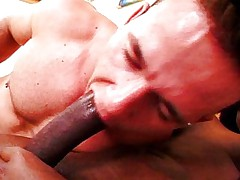 Man gets shemale cock