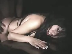 Latina Slut Bangs in the back seat