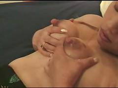 Asian mature lactating