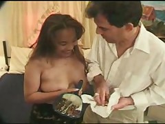 Asian mature lactating