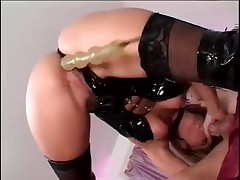Jackie Moore In Boots and Leather