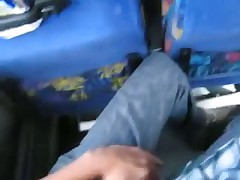 Blowjob in the Bus