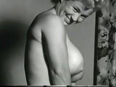 Vintage Clip of hot huge boobs blonde