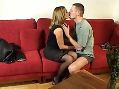 Hot French couple gets it on afternoon