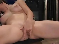 Sexy Amateur Babe Learns How To Use Electric Fucking Machines