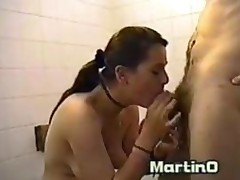 Hot Slut Julia Fucked In The Bathroom