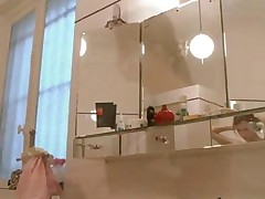 Busty Teenager Beata Naked In Bathroom