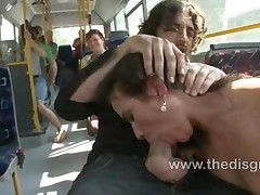 Niki Sweet Gets Tied And Fucked On A Public Bus