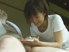 Japanese Cfnm Countryside Cock Cleaning Service With Busty..