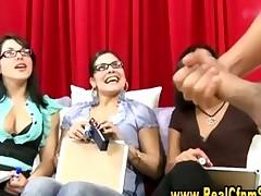 Cfnm Girls Judging Penis