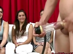 Cfnm Babes Use Toy On Guy