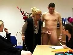 Slutty Cfnm Office Babes