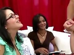 Cfnm Babes Laugh At Guys Cock