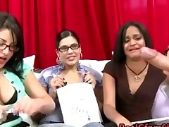 Cfnm Babes Laugh At Guys Cock