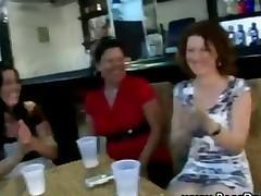 Dirty Cfnm Hotties Get Cock