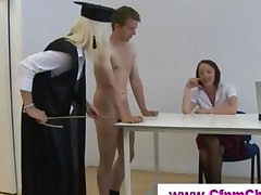 Cfnm Schoolgirls In Detention Get Naughty