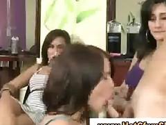 Cfnm Babe Sucks Mans Cock While Her Friends Watch