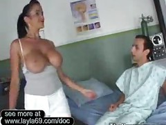 Doctor Bing Cures Her Patients Cock By Fucking It
