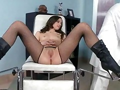 Hot Girl Enjoying Sex With Her Doctor