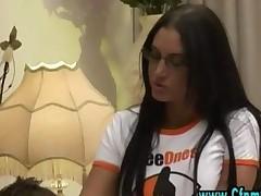 Cfnm Femdom Girls Give Blowjob