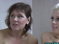 Cfnm Femdom Girls Jerking Cock