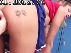 Horny Schoolgirl Slut Delivers Her Taut Twat A Taste Of..