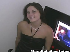 Screwing Strangers And Creampie Sloppy Seconds In The Gloryhole