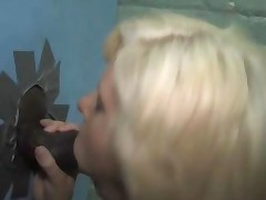 Hot Blonde Kelly Surfer Sucking Off A Black A Gloryhole..