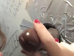 Alice Bell Satisfying A Stranger At A Gloryhole
