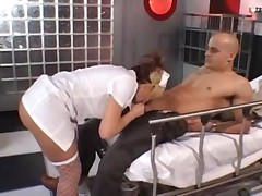 Nurse Gets An Anal Injection