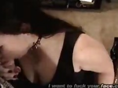 Goth Chick Amazing Blowjob (Full)