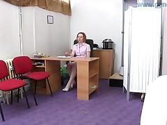 Gyno Exam Of Natural Breasts Girl