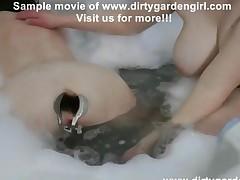 Dirtygardengirl Speculum In Bath Tube