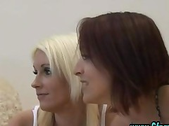 Cfnm Group British Girls Give Handjob