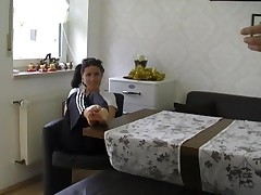 German Couple Kitchen Table Sex