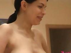 Naked Zuzinka In The Kitchen