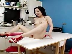 Homemade Asian Kitchen Fuck