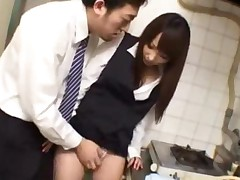 Office Lady Giving Blowjob On Her Knees Cum To Mouth In..