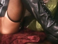 Compilation Of Sex In Latex And Leather Lingerie