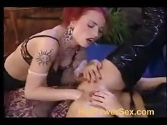Hard Sex In Lack And Leather Part 1