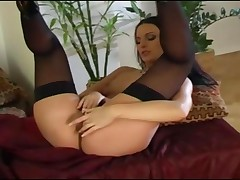 Compilation Of Mili Jay Masturbating In Lingerie