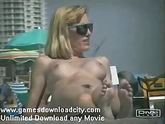 Eurobeach - Pizz Buin - Nude And Topless Beach - Nudist